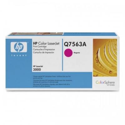 Покупаем использованный картридж Q7563A HP Картридж пурпурный с тонером ColorSphere для принтеров HP Color LaserJet 3000, 3500 копий. для принтеров дорого.